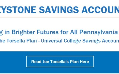 Joe Torsella Unveils Plan for Universal College Savings Accounts for Every Pennsylvania Child