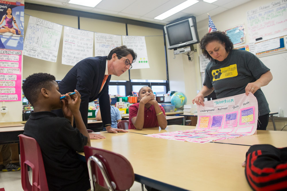 Encouraging future scholars: a rare triumph of vision and patience