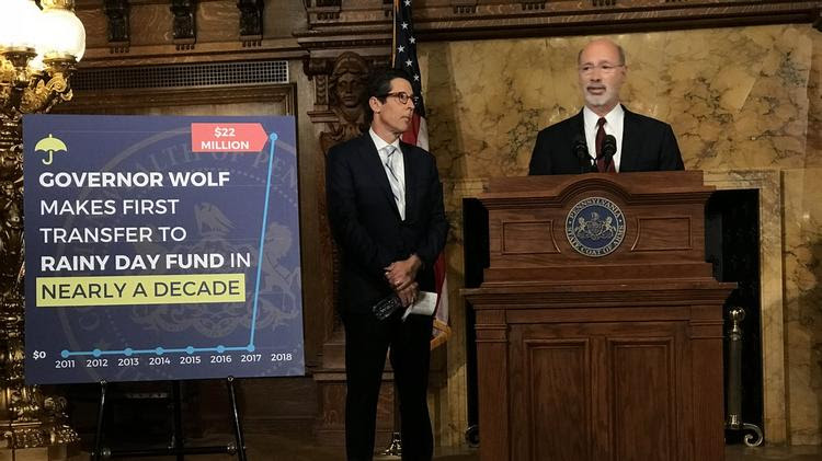 Pew researcher: Wolf's $22M deposit to rainy day fund is a 'big moment' for Pa.